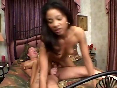 Nasty sex industry star Misty Mason in best ebony and dark-hued, multiracial pornography movie