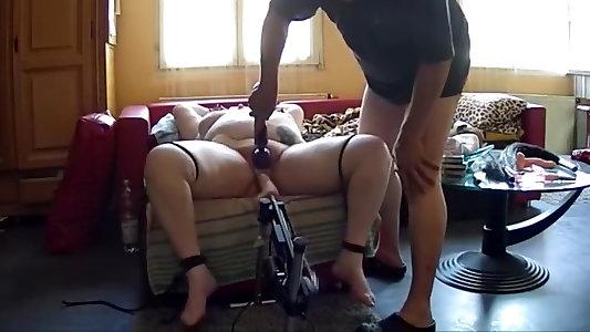 Kinky first-timer DildosFucktoys porno clamp