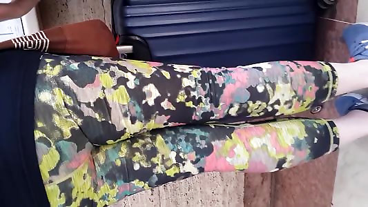 Colorific Fitness Stretch Pants