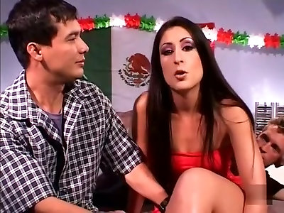 Super-naughty pornographic star Luscious Lopez in amazing latina porn clip