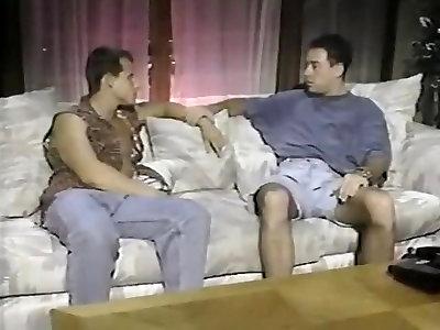 2 Retro Boys In Couch