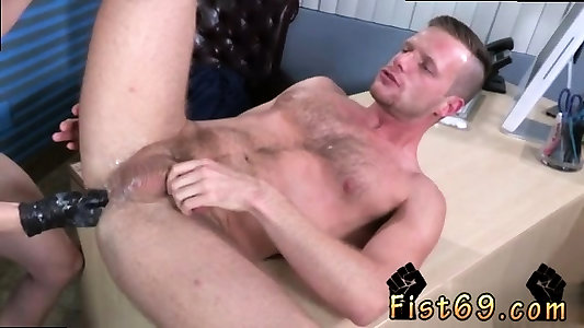 Faggot youthfull fist pounding first time Brian Bonds and Axel