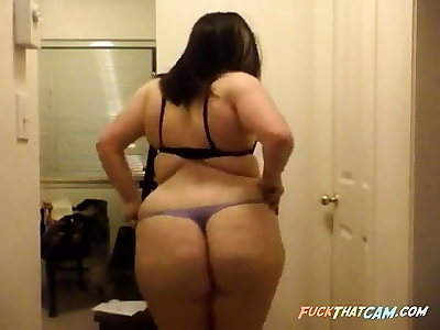 Bbw Web Cam Striptease