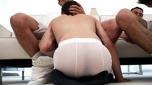 Teenie homo twink sensitized beef whistle movies and thai guy tear up first
