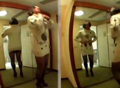 Love crossdress as a girl in wool 27