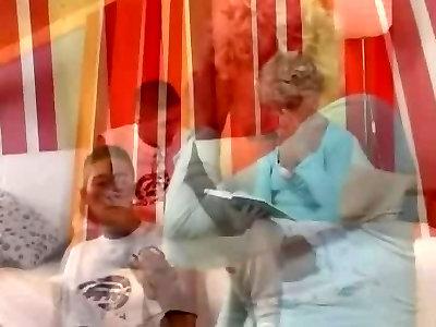 Grannie in Glasses Pulverizes the Boy