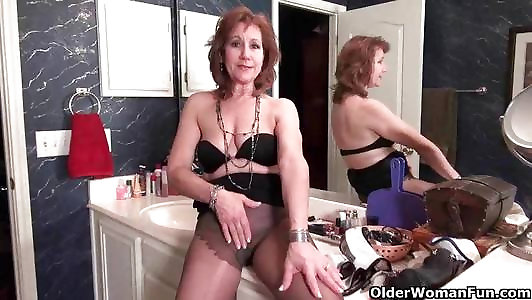 Americas finest cougars in stockings bevy
