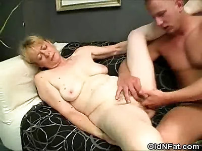 Lush Grandma Bone Bjs And Her Gets Fur Covered Coochie Boned