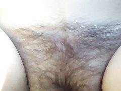 Mary's hairy pussy