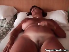 Hot big boobed nasty chubby MILF slut part5
