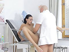 This doctor knows how to take care of his sexy patient