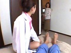 Ann Nanba Asian nurse shows off her cute part3