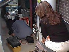 Fucking the handyman