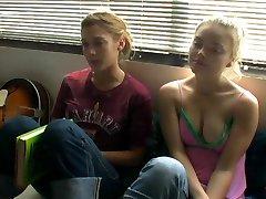 Izabella Miko and Lizzy Caplan - Crashing