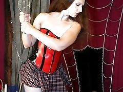 Ass whipping in dungeon
