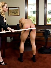 Being called out on the carpet takes on new meaning when your boss is Aiden Starr. She is a very...
