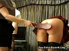 In this video a strap is used, which is not always used. Some of our gals just cant take the...
