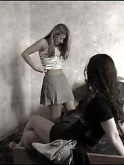 Mind-blowing voyeur video with two irresistible college chicks getting changed