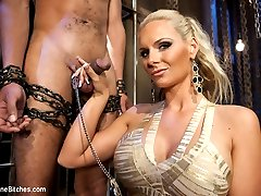 What more could you ask for? Phoenix FUCKING Marie whipping, strap-on fucking and using...