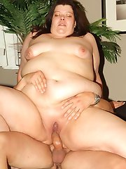 Horny BBW Margaret meets up with her sexy bald lover and goes for hardcore fucking in this porn...