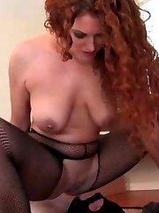 Mistress Sabrina WILL make her slave OBEY!