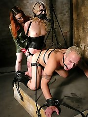 Imagine a world where you are at the mercy of both Mistress Claire Adams and submissive slut...
