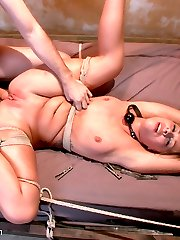 Fuck toy Zoey Monroe lives out her BDSM fantasy with James Deen in this sexy hardcore role-play. Zoey gets put through her paces with rough sex and corporal punishment.  She also receives a deep pounding in her ass while tied face down to a bed and her legs spread for easy access.