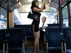 Yuma Asami Asian in black lingerie has boobs PublicSexJapan.com