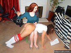 EPISODE #242: Veronica Spanks New Roommate Kitty