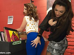 Savanna Fox comes in to Jessy's record store right as Jessy is trying to close up. Savanna is looking for