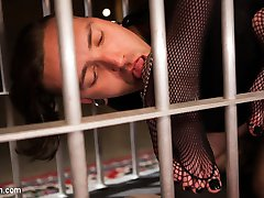 Slave boy Ruckus enthusiastically worships hot dominatrix Chelsea Marie working hard for the...