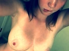 Kinky horny honeys stripping naked at home