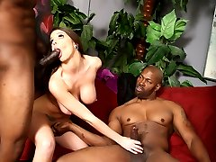 Brooklyn Chase Loves Interracial Sex at Blacks On Blondes!