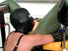 Rubber fisting