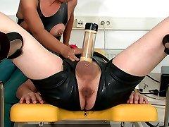Handjob milking