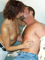 Exotic milf with tight little package gets her hole filled nicely