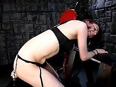 Russian TS Yelena fucks her ass