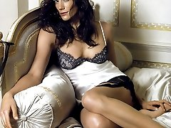 Beautiful celebrities get recorded bare titted