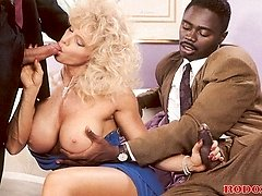 Interracial lady screwing