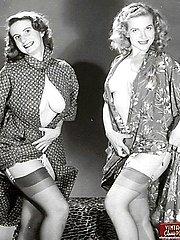 Multiple fabulous ladies posing