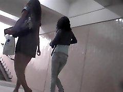 Juicy up-skirt hidden cam video