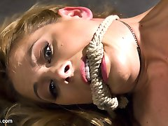 The sinisterly sexy Cherry Torn uses the hot and horny Cherie Deville as her personal electro sexy toy wielding the violet wand, wired dildos, e-stim sticky pads, and electro orgasmic pussy and anal strap-on fucking!
