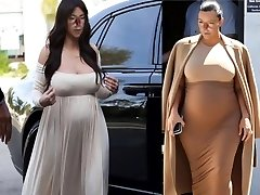 Sexy Pregnant She-male Marisa Kardashian