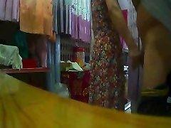 La cortina de la tienda de la tía Intermitente (2)