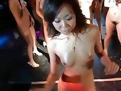 daiya & japan gogo ladies super group striptease dance fun
