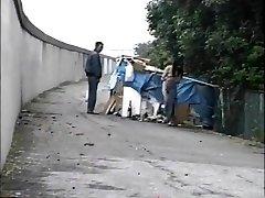 Japonés al aire libre video 013