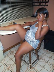 Taboo is a mature black woman who wants to get it on all over the house.  Cum watch her getting naughty on the spin cycle