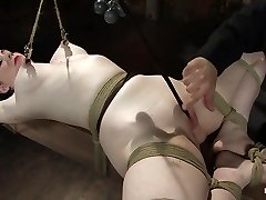 Sybil Hawthorne in Sybil Hawthorne: Retro Sweetheart Enjoys Pain To Get Off - Hogtied