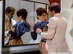 Busty Janey Robbins being boned in bathroom