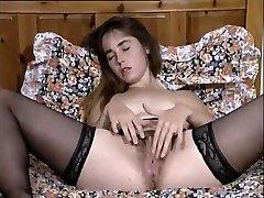Horny Vintage, Masturbation adult clip
